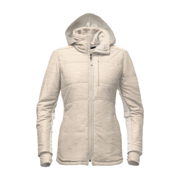 The North Face Women S Pseudio Long Jacket Oatmeal Heather