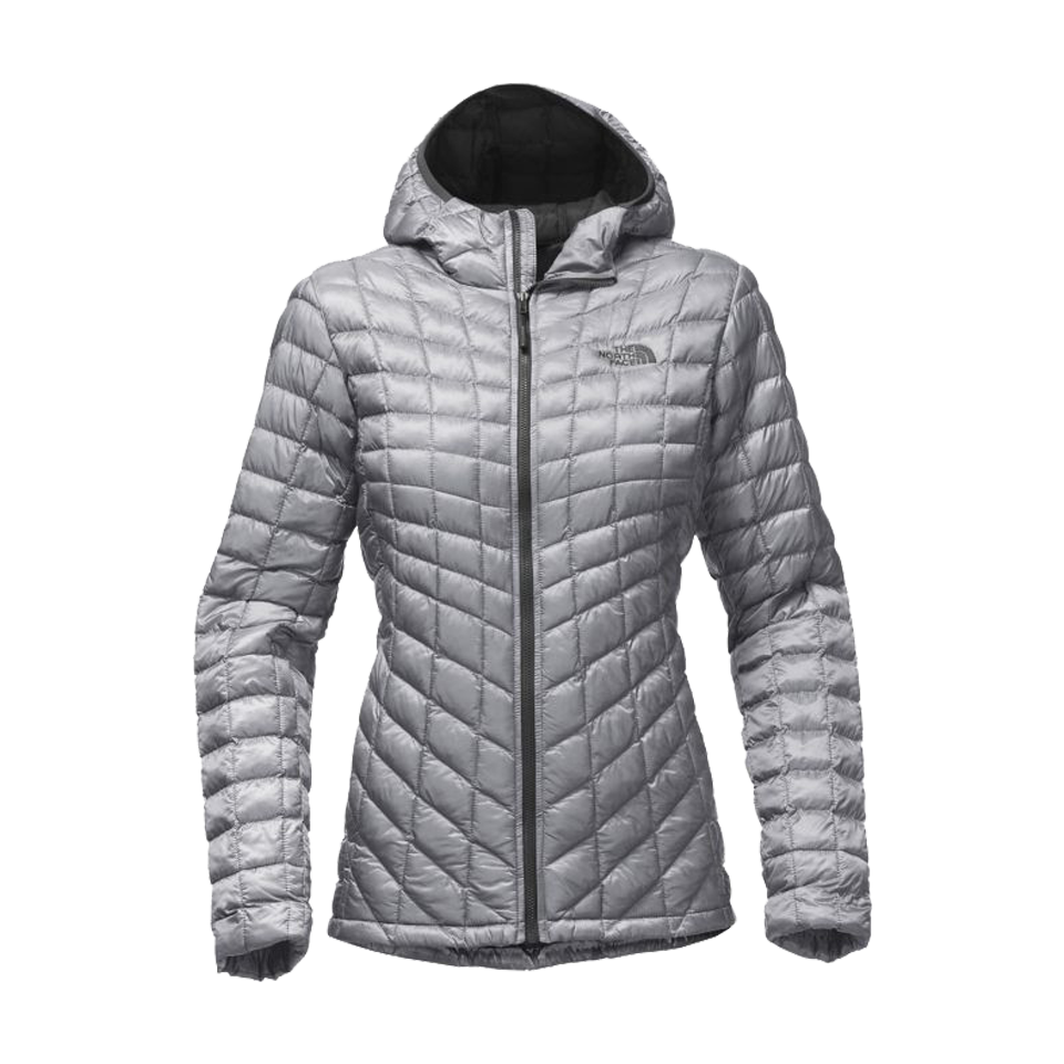 0c0c6d950aa2 The North Face Women s Thermoball Hooded Jacket Mid Grey - Play Stores Inc
