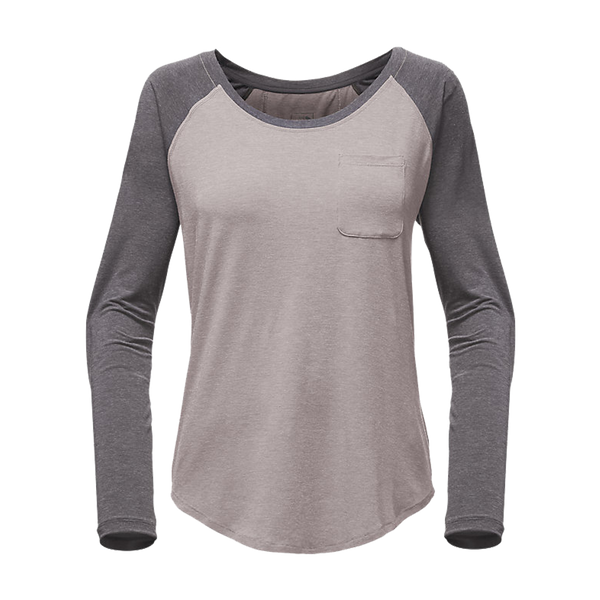 The North Face Women's In A Flash LongSleeve Tee Light Grey Heather