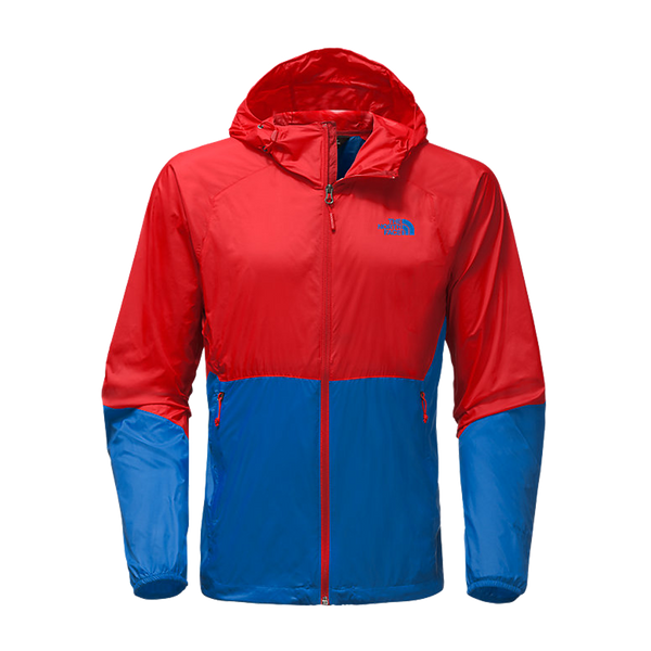The North Face Men's Flyweight Hoody High Risk Red