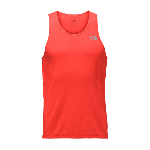 The North Face Men's Flight Better Than Naked Tank Orange