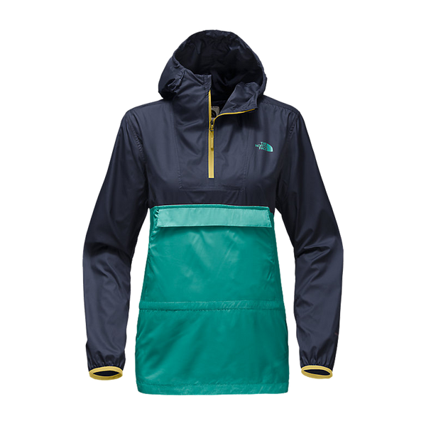 The North Face Women's Fanorak Jacket Bristol Blue
