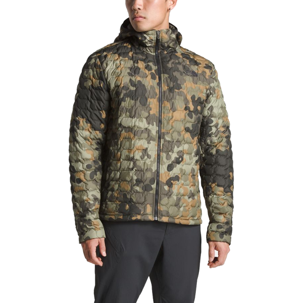 The North Face Men's Thermoball Hoodie Camo Print