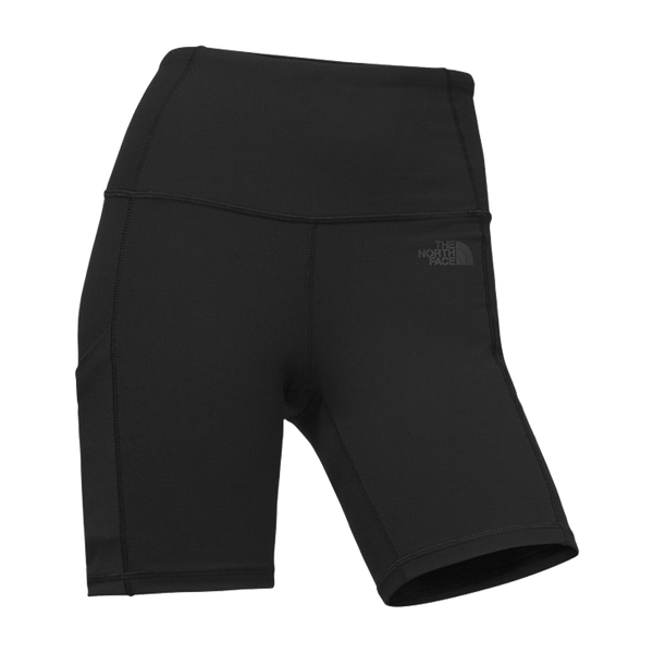 "The North Face Women's Motivation Highrise Short 11"" Black"