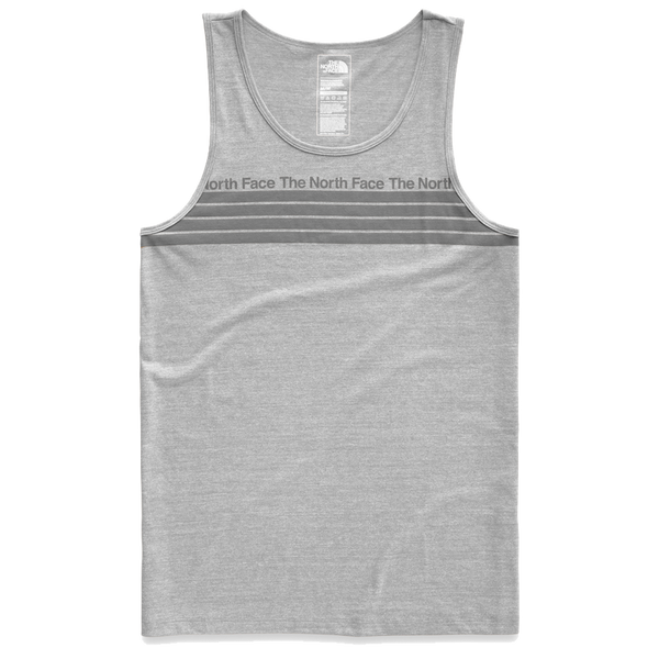 The North Face Men's Vintage Pyrennes Tri-Blend Tank Light Grey Heather