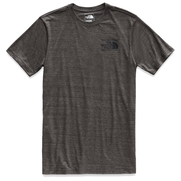 The North Face Men's Vintage Pyrenees Tri-Blend Tee Dark Grey Heather