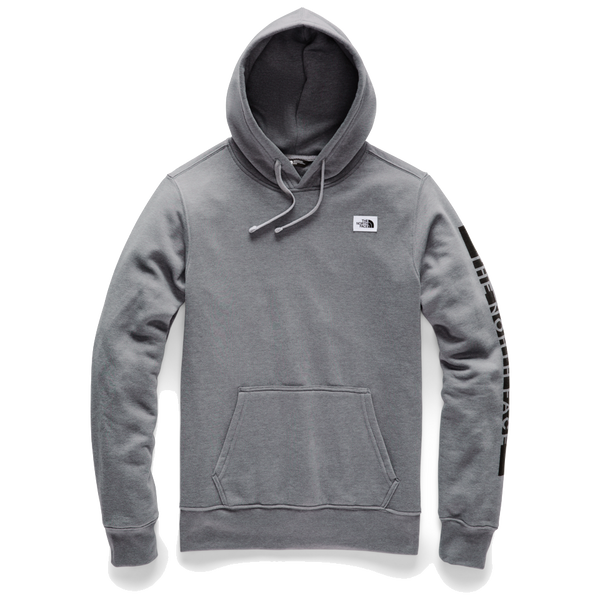 The North Face Men's Training Logo Pullover Hoodie Medium Grey Heather