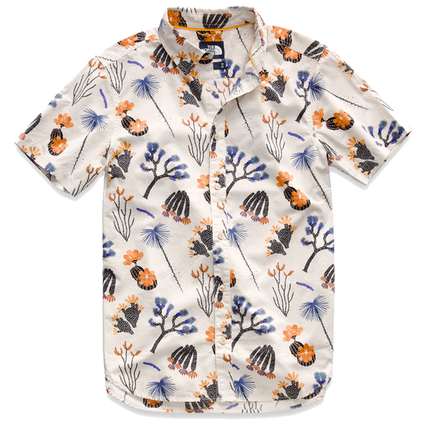 The North Face Men's S/S Baytrail Shirt Joshua Tree Print