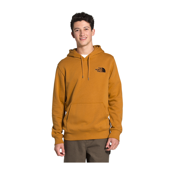 The North Face Men's Patch Pullover Hoodie Citrine Yellow