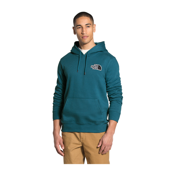 The North Face Men's Patch Pullover Hoodie Mallard Blue