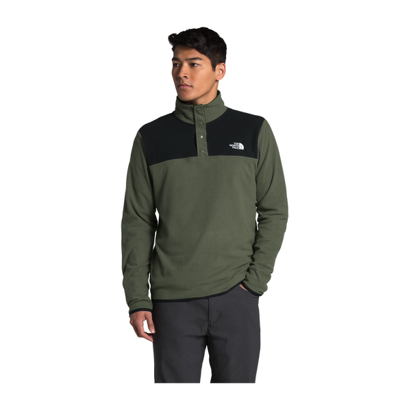 The North Face Men's TKA Glacier Pullover New Taupe Green