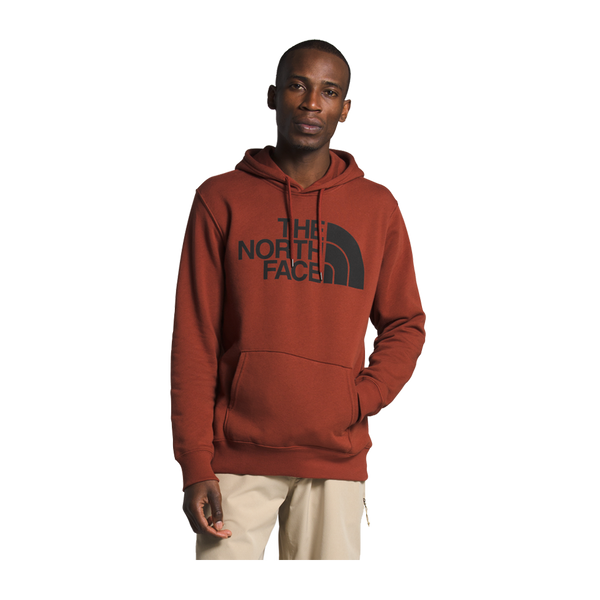 The North Face Men's Half Dome Pullover Hoodie Brandy Brown