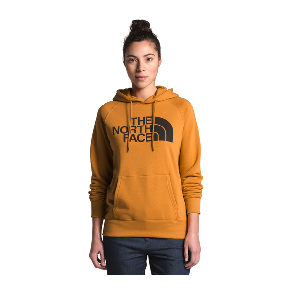 The North Face Women's Half Dome Pullover Hoodie Citrine Yellow