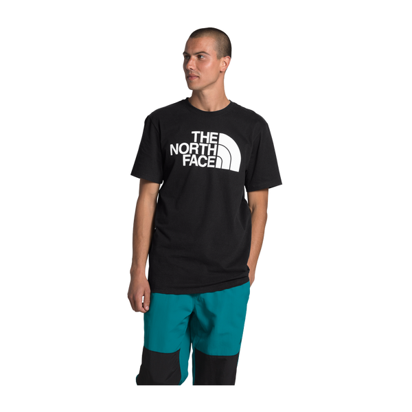 The North Face Men's Short Sleeve Half Dome Tee Black