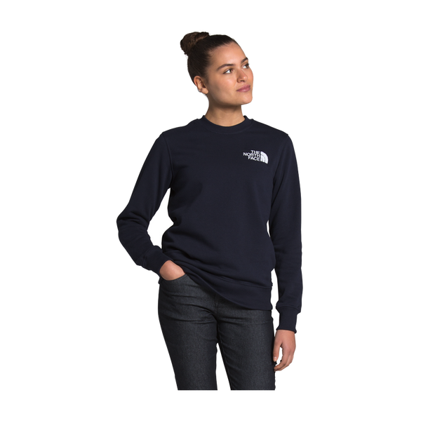 The North Face Women's Heritage Crew Aviator Navy