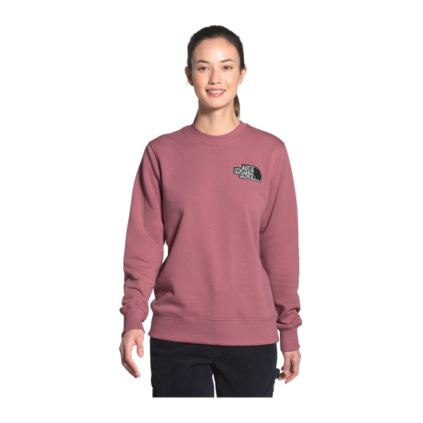 The North Face Women's Heritage Crew Mesa Rose