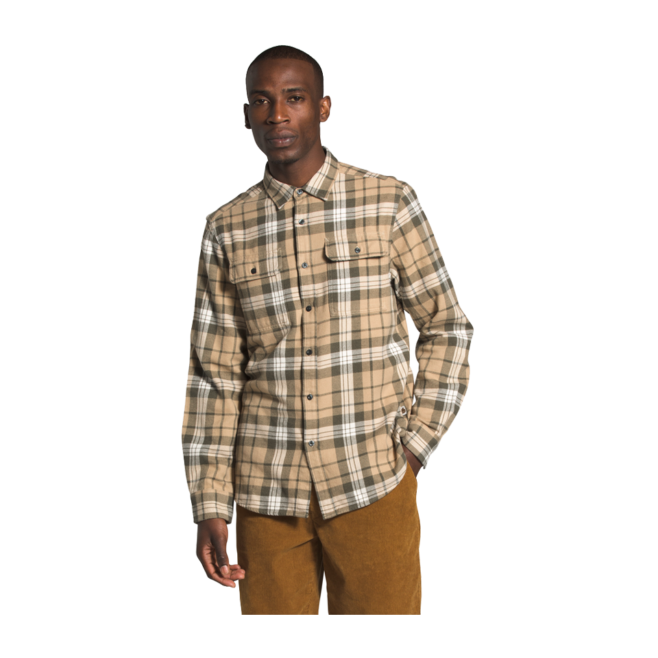 The North Face Men's Arroyo Flannel Hawthorne Khaki