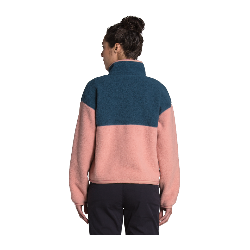 The North Face Women's Cragmont 1/4 Snap Blue Wing Teal