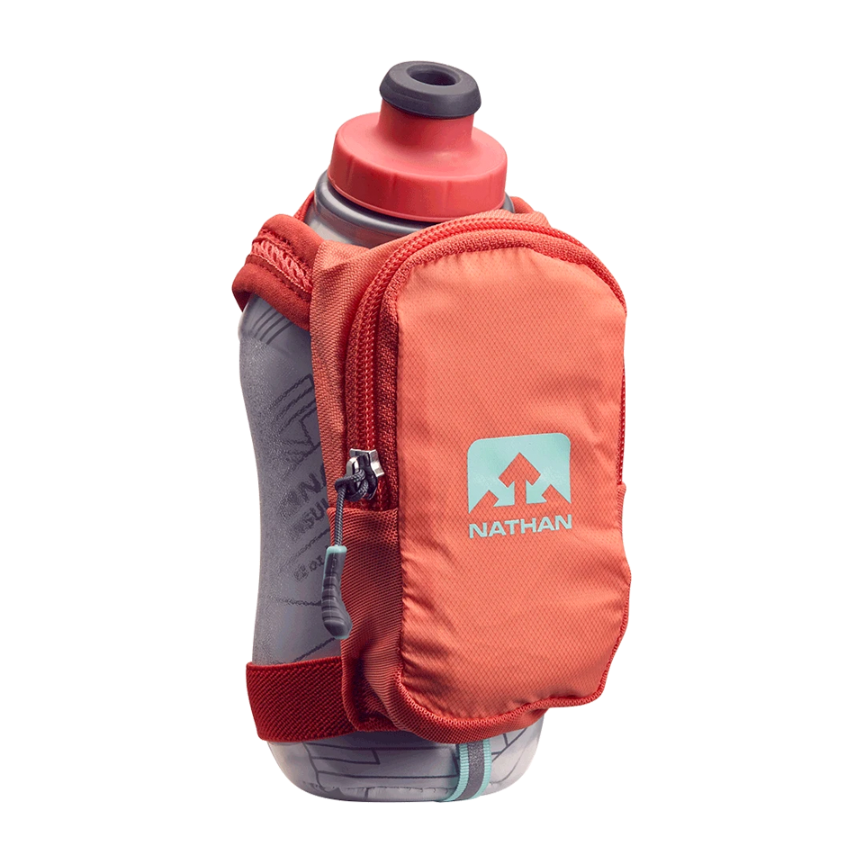 Nathan SpeedShot Plus Insulated 12 oz Fusion Coral