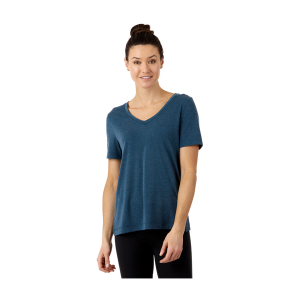 Cotopaxi Women's Paseo Travel T-Shirt Indigo