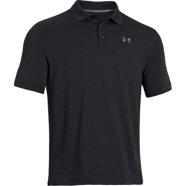 Under Armour Men's Golf Performance Polo Black