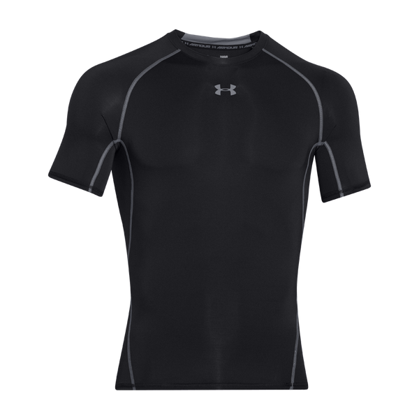 Under Armour Men's HeatGear Armour Compression Short Sleeve Black