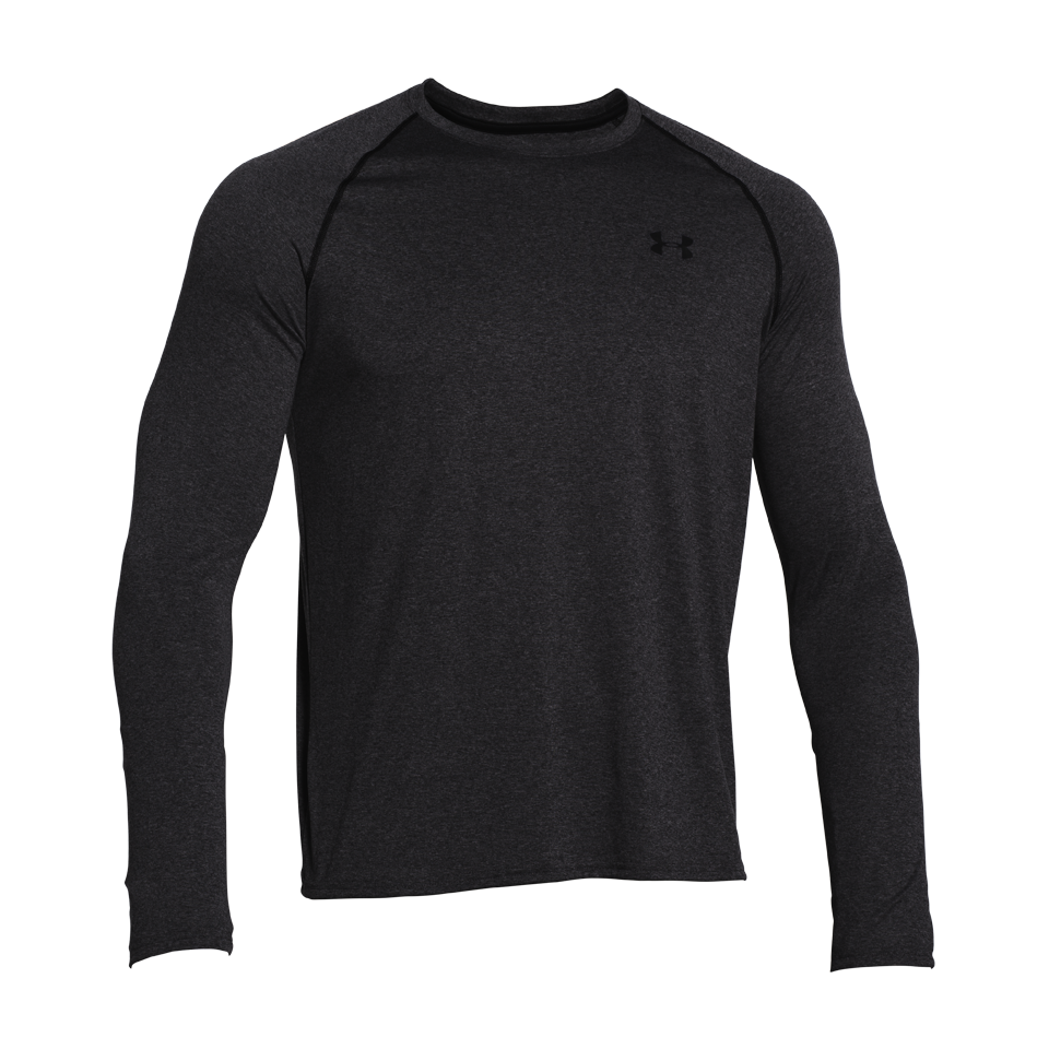 Under Armour Men's Tech Longsleeve Tee Carbon Heather