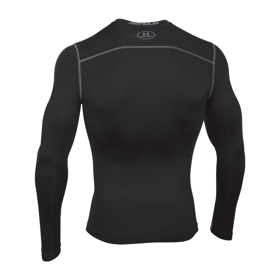 Under Armour Men's ColdGear Armour Compression Crew Black
