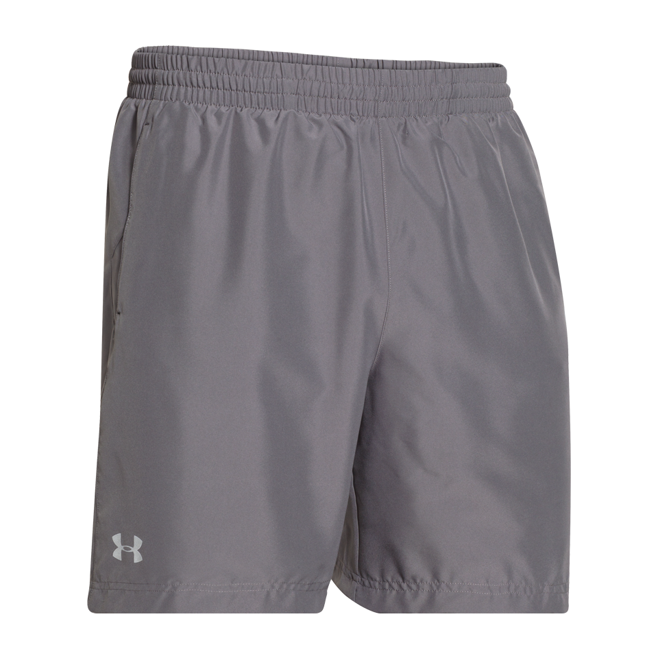 "Under Armour Men's Launch 7"" Short Grey"