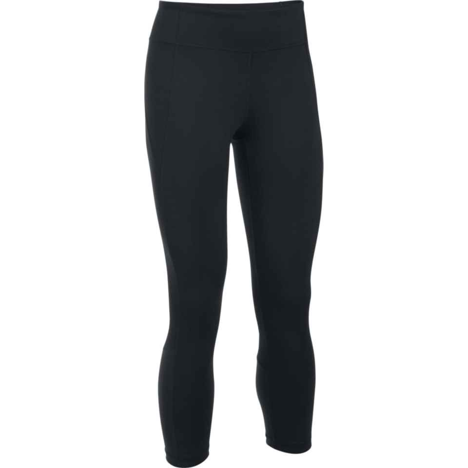Under Armour Women's Mirror Studio Crop Black