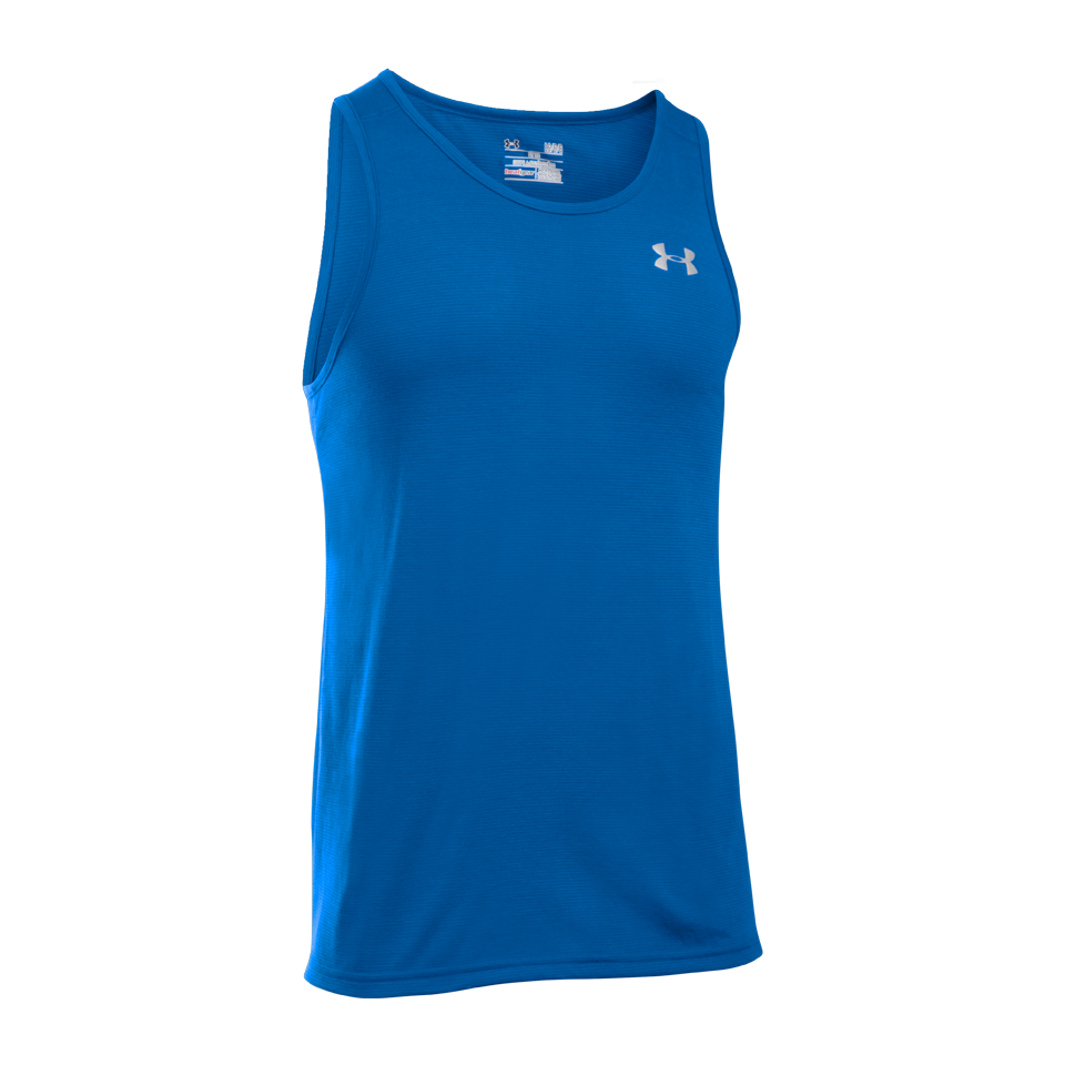 Under Armour Men's Streaker Singlet Ultra Blue