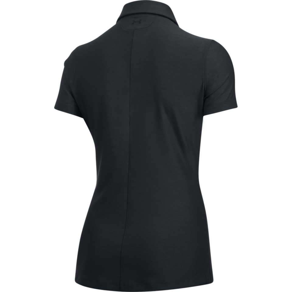 Under Armour Women's Zinger Short Sleeve Polo Black