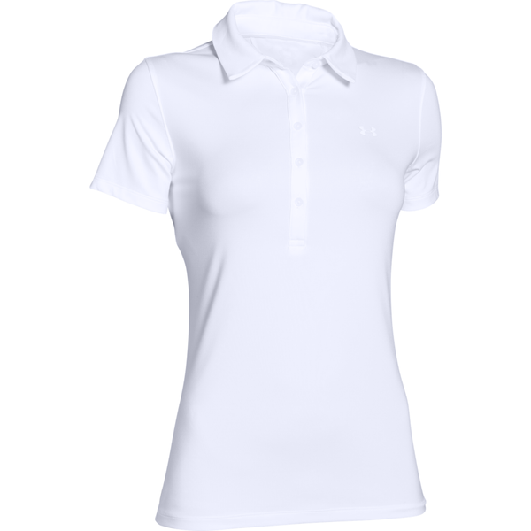 Under Armour Women's Zinger Polo White