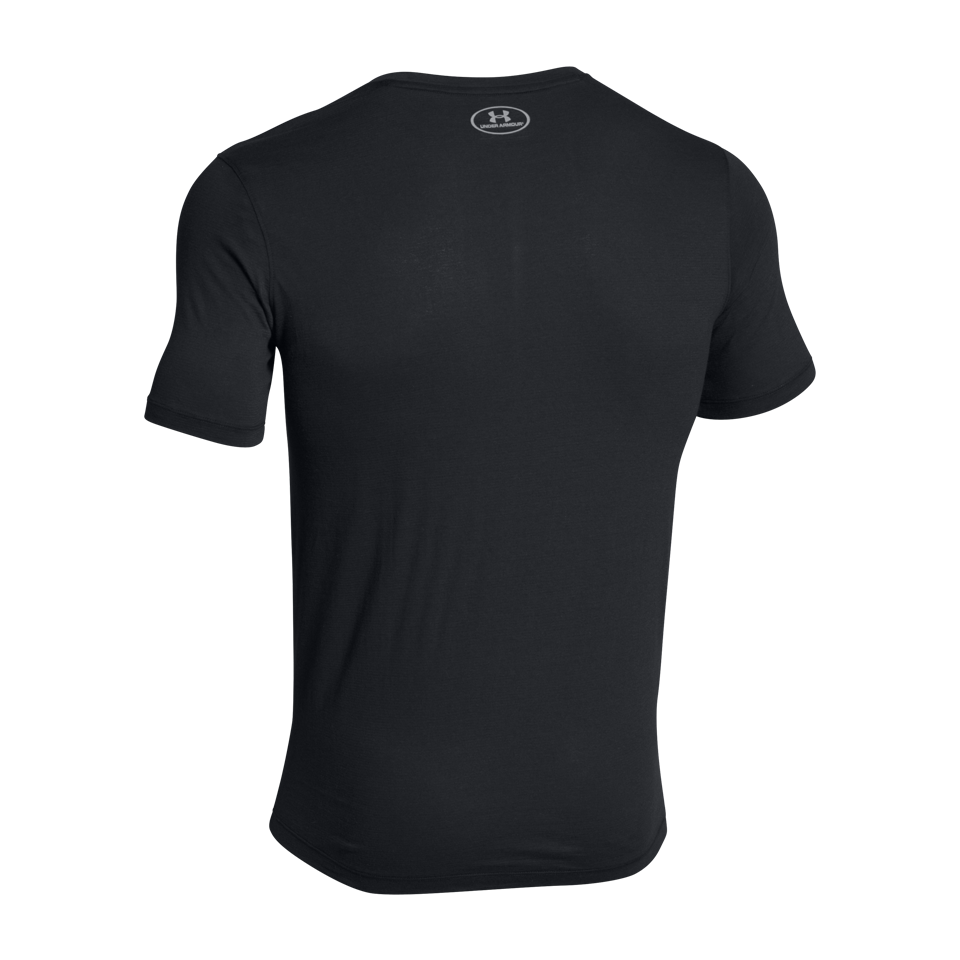 Under Armour Men's Charged Cotton Short Sleeve Tee Black