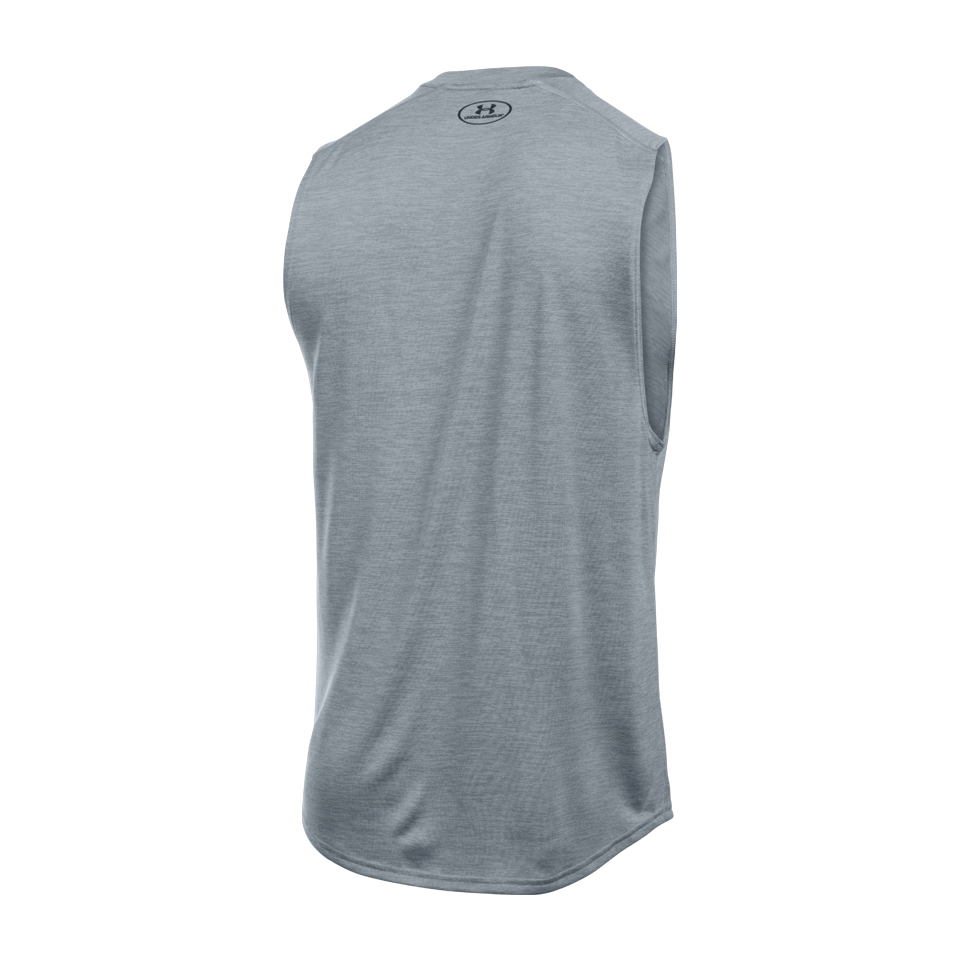 Under Armour Men's Tech Muscle Tank Steel
