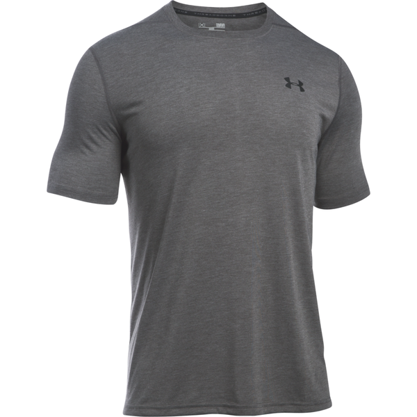 Under Armour Men's Threadborne Short Sleeve Carbon Heather