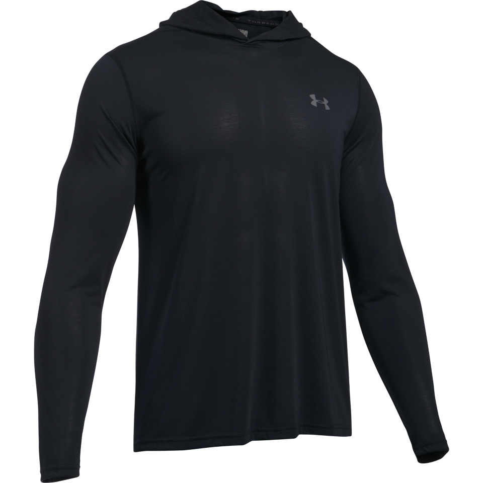 Under Armour Men's Threadborne Hoody Black
