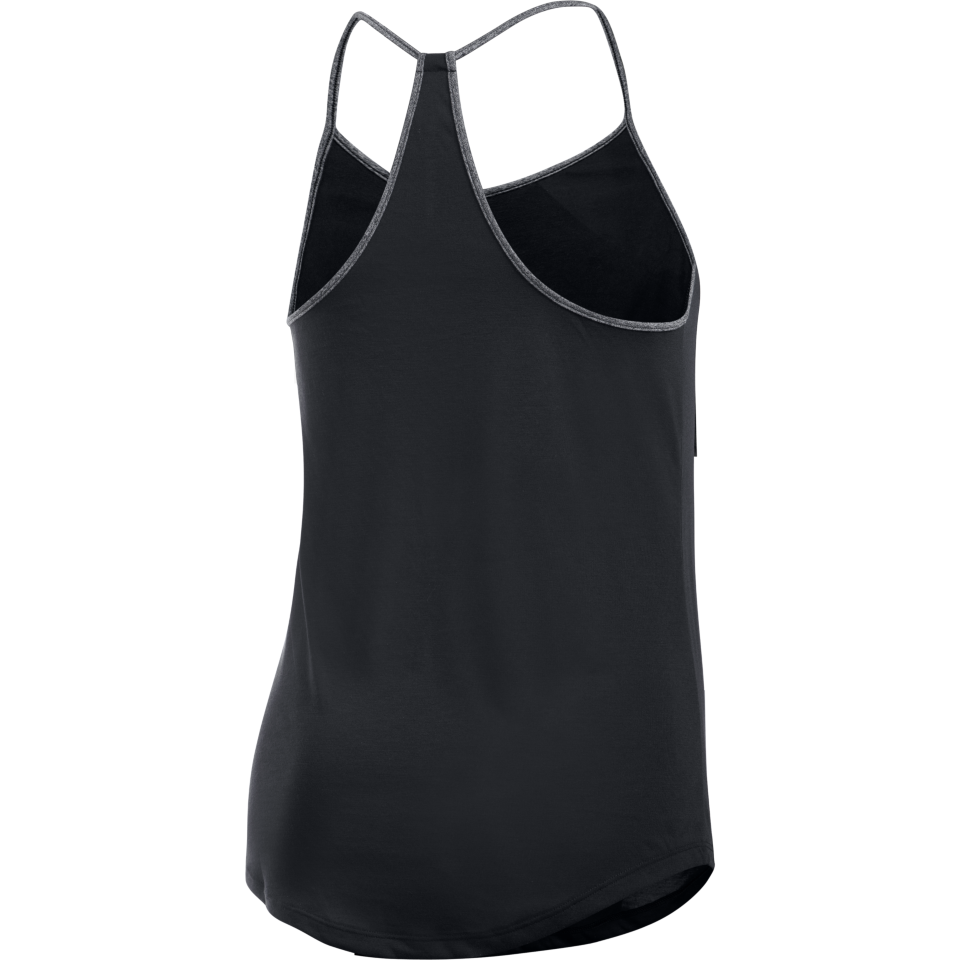 Under Armour Women's Threadborne Train Strap Tank Black