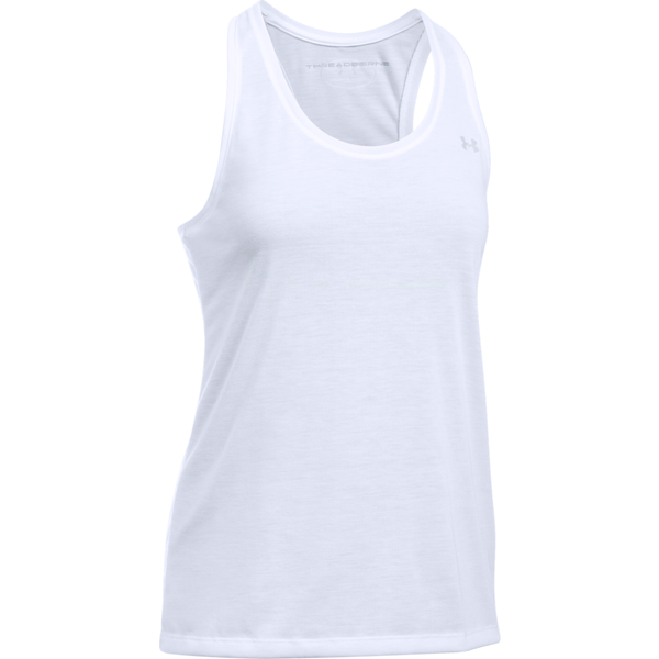 Under Armour Women's Threadborne Train Tank White