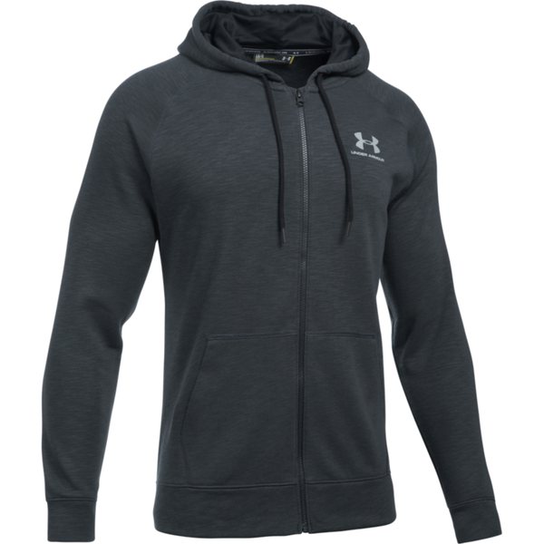 Under Armour Men's Full Zip Tri Hood Black