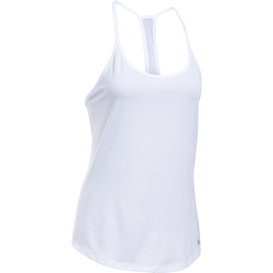 Under Armour Women's Fly By Tank White