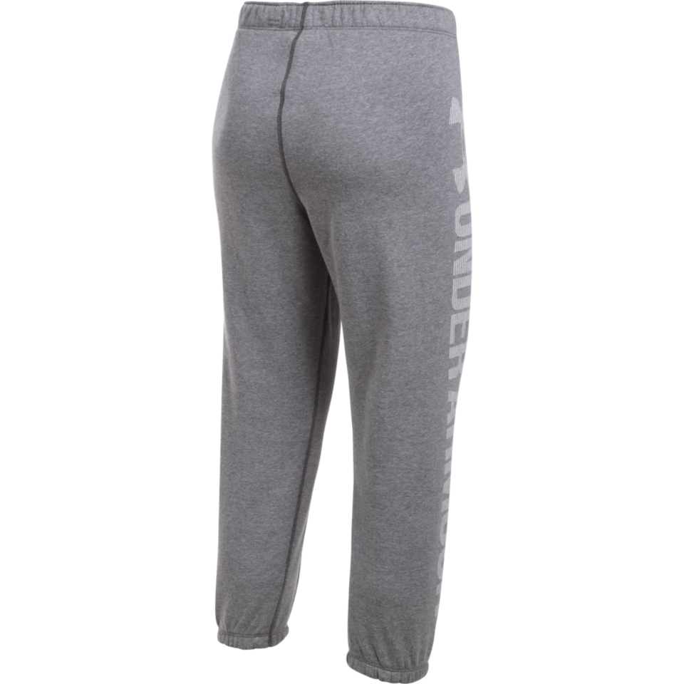 Under Armour Women's Favourite Fleece Capri Light Heather Grey