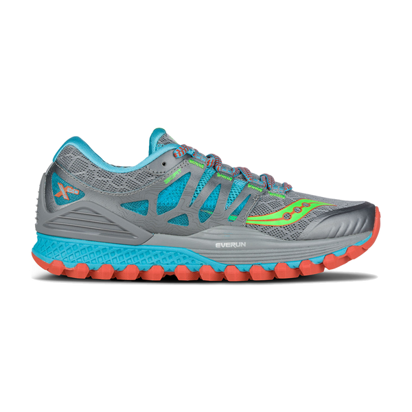Saucony Women's Xodus ISO Grey/Blue