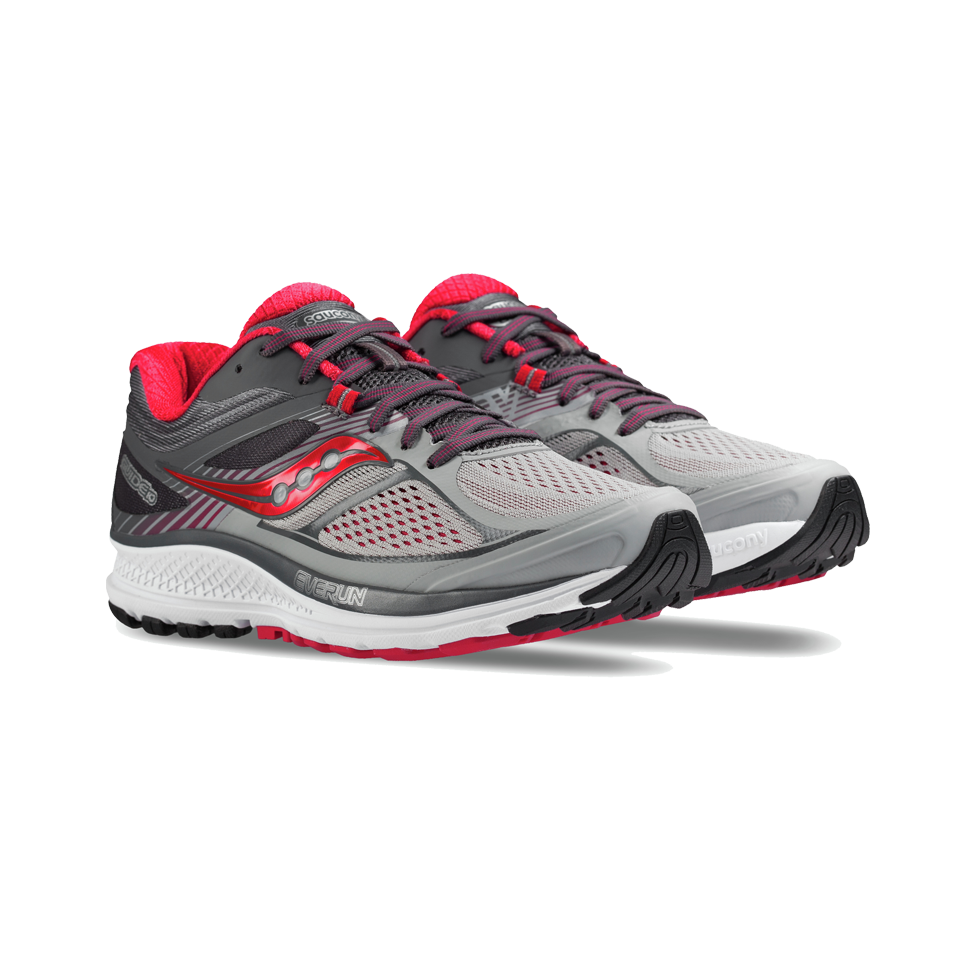 Saucony Women's Guide 10 Silver/Berry