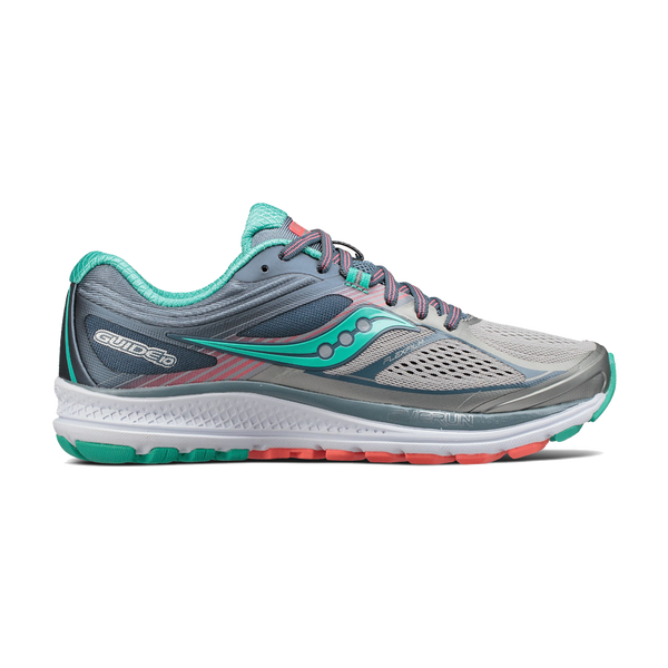 Saucony Women's Guide 10 Grey/Teal