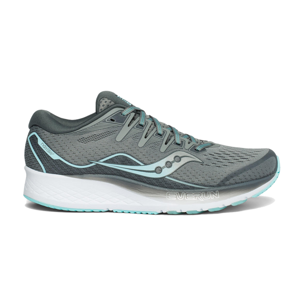 Saucony Women's Ride ISO 2 Grey/Blue