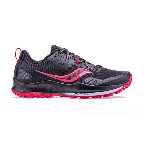 Saucony Women's Peregrine 10 Black/Barberry