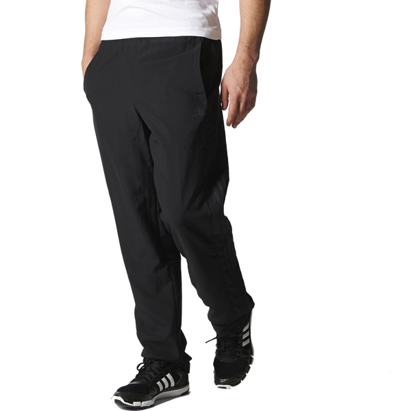 Adidas Men's Essential 3 Stripe Pant Black