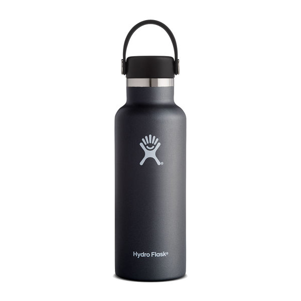 Hydro Flask 18oz Standard Mouth Black