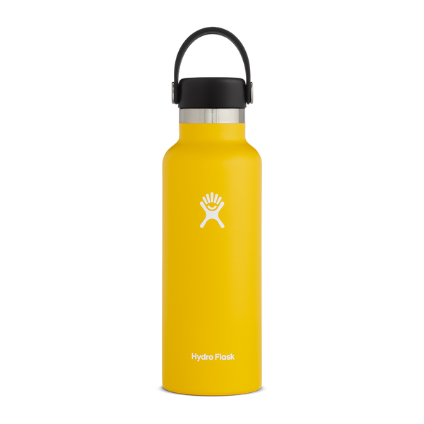Hydro Flask 18 oz. Standard Mouth Sunflower